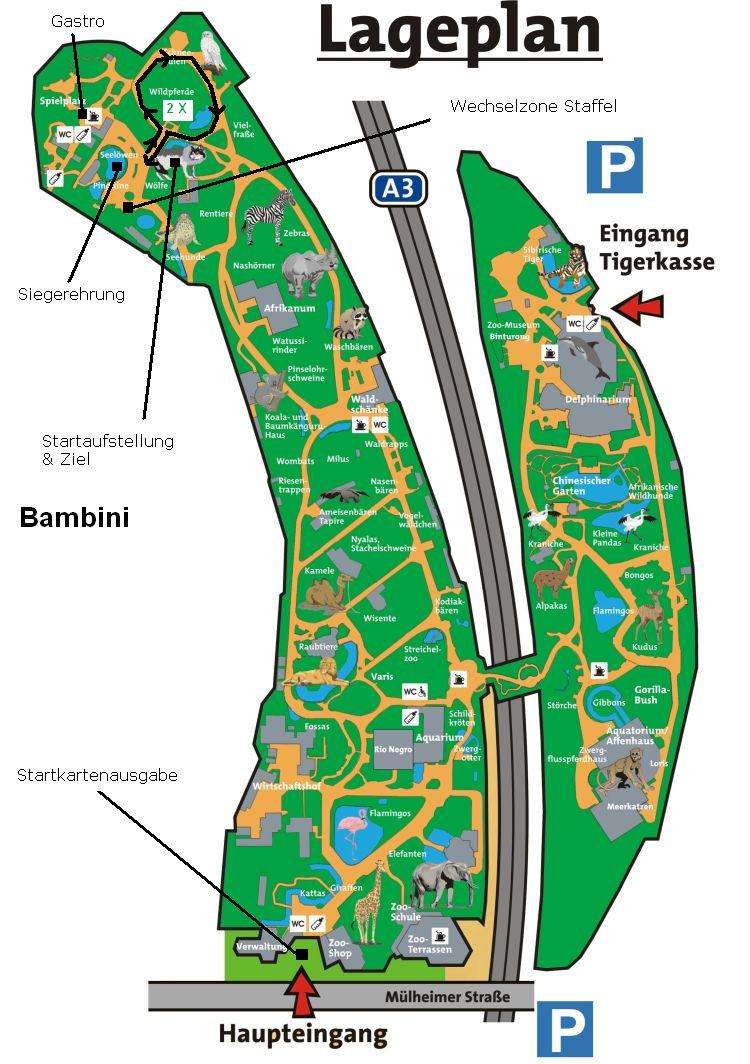 Zoolauf Duisburg Strecke Bambini
